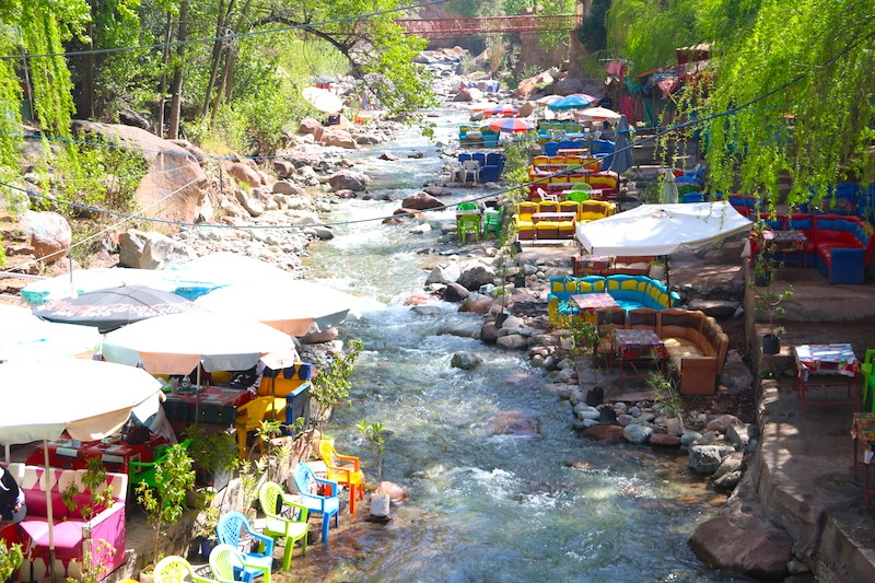 Marrakech day trip to the Ourika valley excursion